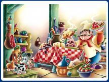 Fábula del cocinero y el perro